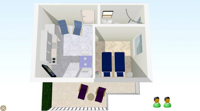 Apartment Suite Layout