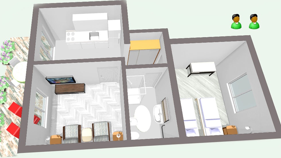 Family Apartment Layout