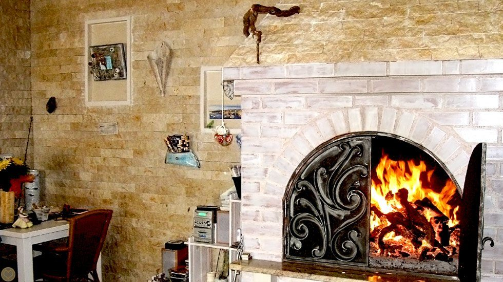 Fireplace Pape Tavern