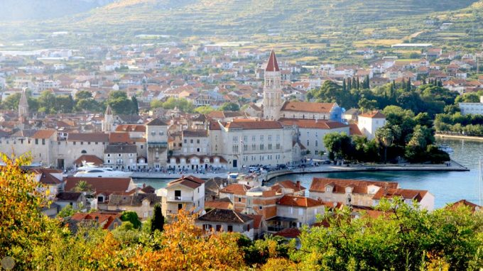 Trogir From Hill