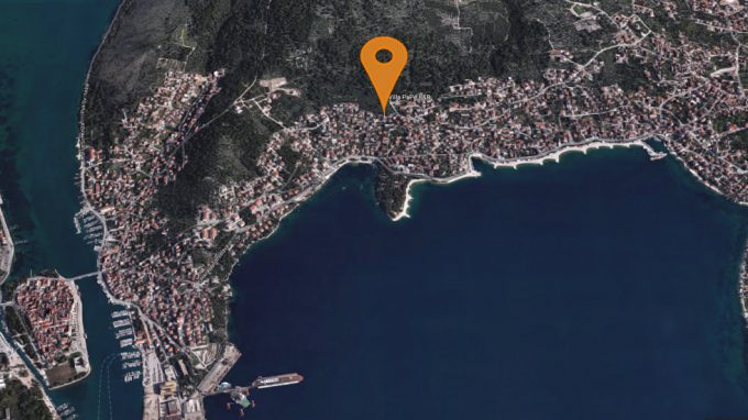 Trogir Map View