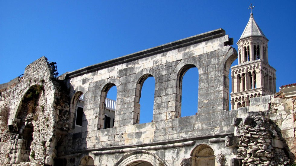 Diocletian Palace Wall