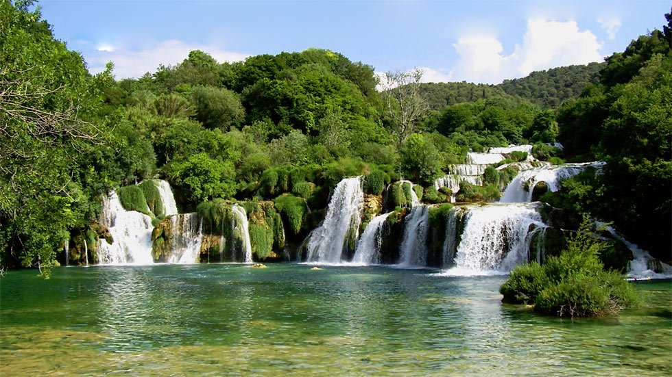 krka waterfall national park is primarily to serve science culture education and recreation. Black Bedroom Furniture Sets. Home Design Ideas