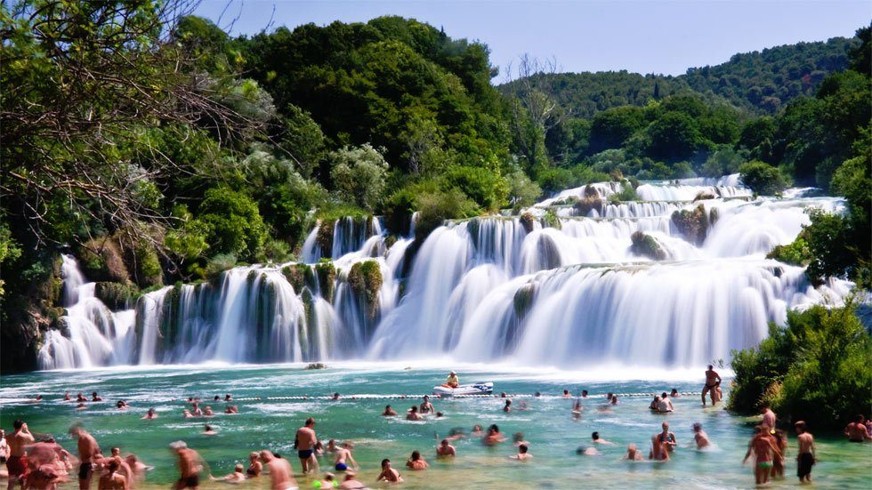 Relax Krka Waterfalls
