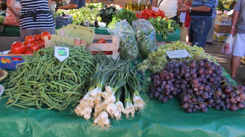 Spring Cuisine Croatia - Trogir Market
