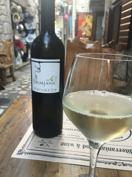 Croatian Malvazija Trogir