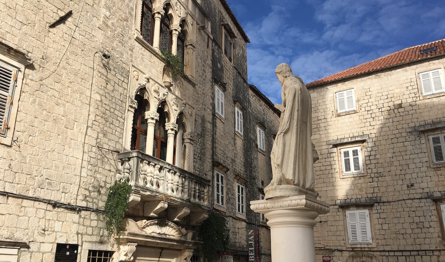 Trogir Cathedral North Entrance